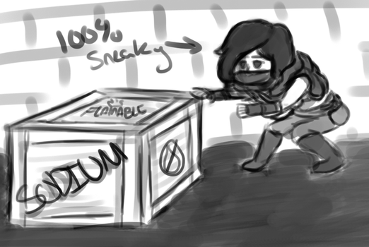 Sneaky Sneak by DentistChicken