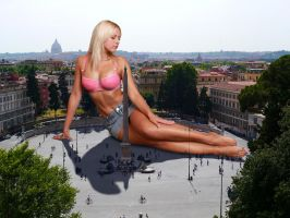 Jenni Czech in Rome by Accasbel