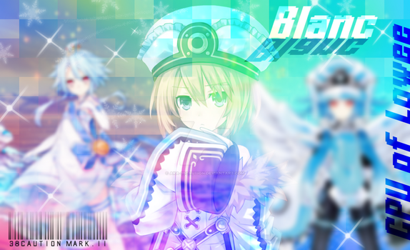 Blanc, CPU of Lowee by 38Caution-MK2