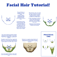 Facial Hair Tutorial by LieutenantSheesha