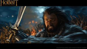 Speed Paint -Thorin Oakenshield by RoninDude