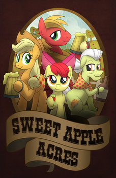 Sweet Apple Acres by artwork-tee