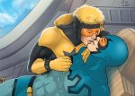Blue Beetle x Booster Gold by Autumn-Sacura