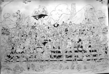 All Asterix characters in 1 drawing! by ArtClem