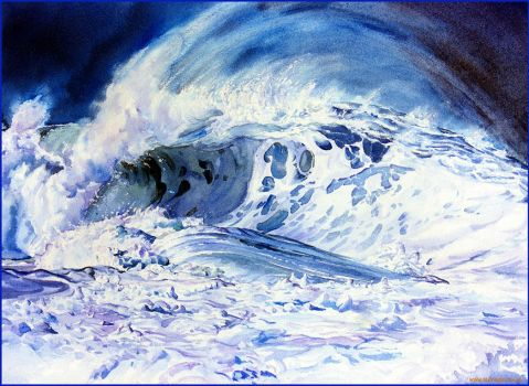 Wave frothy by Ezeg
