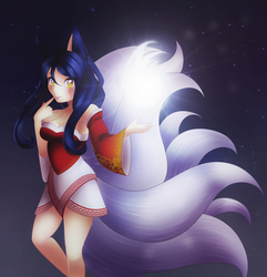 Ahri by Yihime