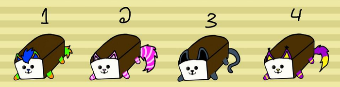 Kitty Loafs adopts #1 [2/4 OPEN] by The-Koneko-adopts