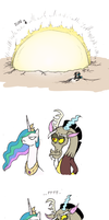 Celestia Accidental The Sun by Mickeymonster