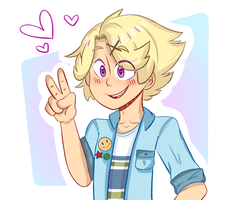 Yoosung!!!  by Dinocharm