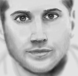 Jensen Ackles - sketchy like 2 by kelly42fox