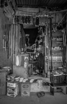 The old shoe fixer by theanonymousheart