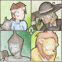 The Wonderful Wizard of Oz by Mister-Saturn