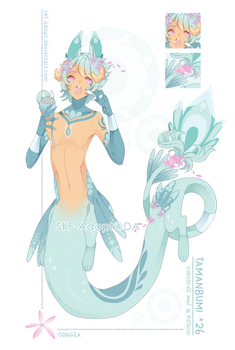 [CLOSED TY!]Chocolate Mint And Pistachio-Tamanbumi by Skf-Adopt