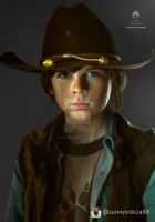 The Walking Dead Chandler Riggs Smudge by sunnyside2488