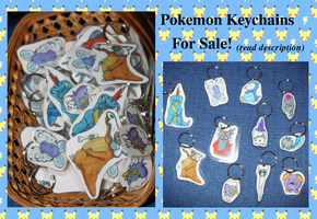 Pokemon Keychains: FOR SALE