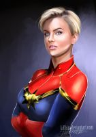 CAPTAIN MARVEL by killbiro