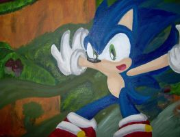 .: Sonic Forest Rush by Neon-Nazo