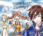 Skies of Arcadia Jeffrey B-day by blameshiori