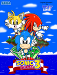 Sonic the Hedgehog 3 and Knuckles Artwork [COLOR] by BlueTyphoon17