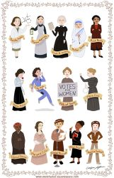 Women In History by CatherineSatrun