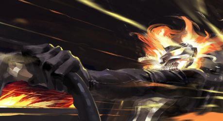 All New Ghost Rider by mister-meh
