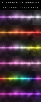 Elements of Harmony Facebook Cover Pack by Vexx3