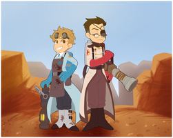 TF2 - Badlands - by BloodyArchimedes