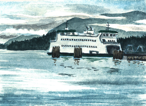Coupeville Ferry by SeeWoods