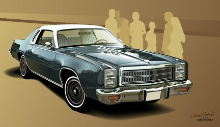 1977 Plymouth Fury by CRWPitman