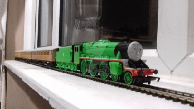 My new hornby Henry by SempleProductions