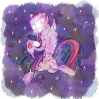 Twilight Sparkle by axolotlshy