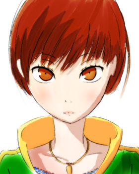 Chie Satonaka by GreedyDeviant