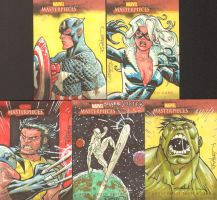 Marvel cards yet again by RyanOttley