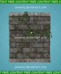 Vine Covered Wall - FREE Content by zememz