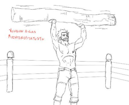 old school training by ToniTimonen
