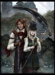 Maria and Gehrman by Wingless-sselgniW