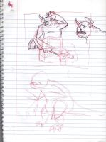 Doodles/Sketches #149 by WaywardMartian