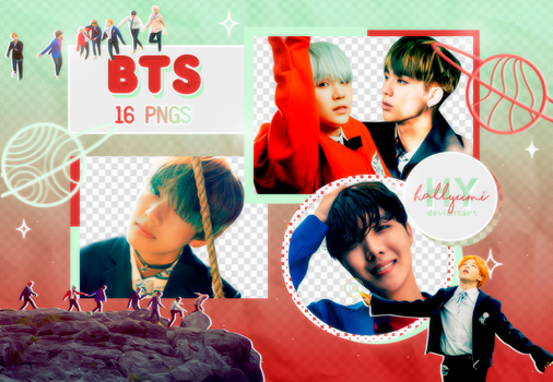 PNG PACK: BTS #39 (HYYH pt.2) by Hallyumi