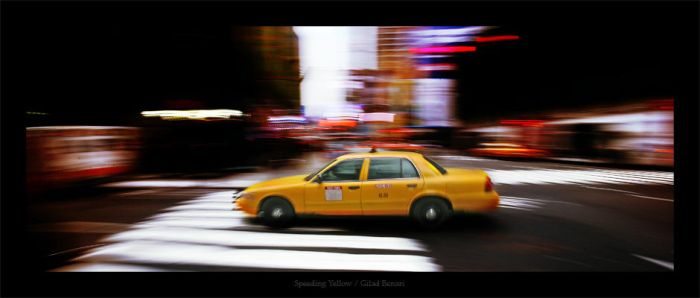 Speeding Yellow by gilad