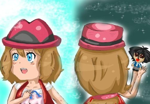 Past and Present Serena~ by Moonlight-Munna