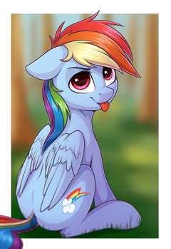 Rainbow Dash by DeltauraArt