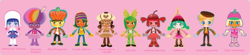 Sugar Rush- The Gang's All Here by spicysteweddemon