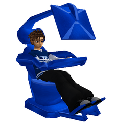 IMVU : Fedora Linux Chair 1 by Axel-Letterman
