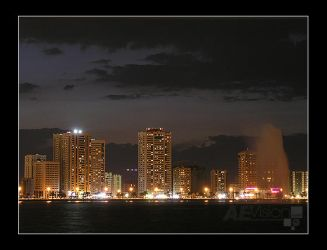 Sharjah at Night III by AEvision