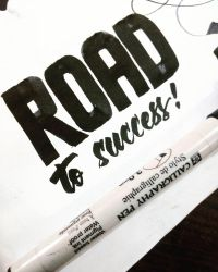 Road to Success  by Artsforall12