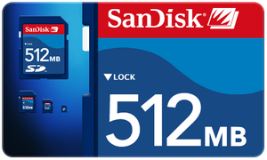 Sandisk SD Card by Plizzo