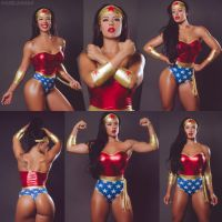 Cosplay Monday With Wonder Woman Sue Lasmar by zenx007