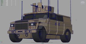 Beginnings of a Monster: LM JLTV by muzikmastamaku