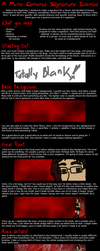 General Signature Tutorial by happy-kittens