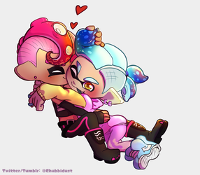 Sanitized8 Commission: Candy and Aerovenko by DustyToonLink